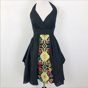 Anthropologie Floreat Embroidered Layered Dress 6